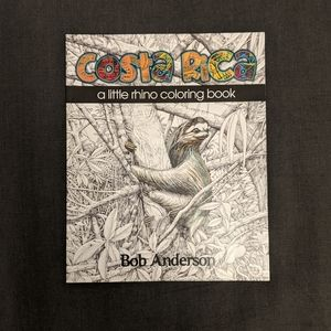Costa Rican Wildlife Coloring Book